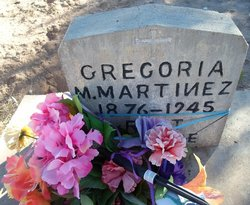 Gregoria M Martinez