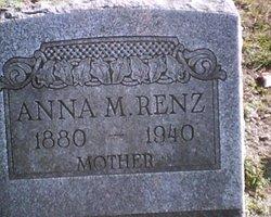 Anna Maria <I>Marshall</I> Renz