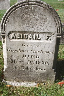 Abigail F. Sturtevant