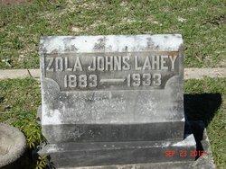Zola <I>Johns</I> Lahey
