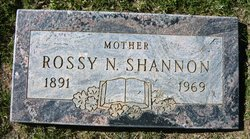 Rossy N Shannon