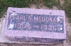 Pearl B McDonald