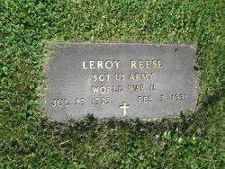 Sgt LeRoy Reese