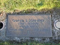Cidred S Schriner