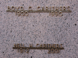 Nell Happel <I>Shirer</I> Carithers