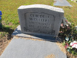Claude J McCullers