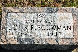 John R Bouwman