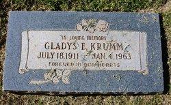 Gladys E <I>Kern</I> Krumm