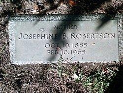 Josephine B Robertson