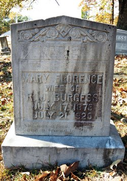 Mary Florence Burgess