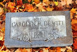 Carolyn R De Witt