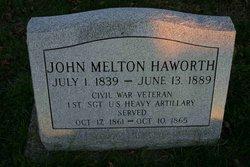 John Melton Haworth
