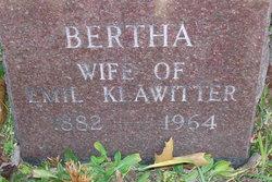 Bertha Pauline <I>Zarbrook</I> Klawitter