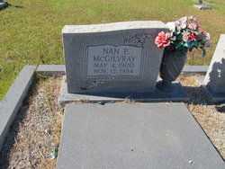 Nan P McGilvray