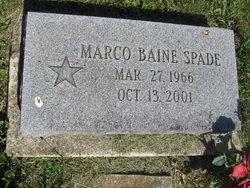 Marco Baine Spade