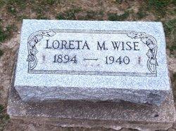 Loreta Mabel <I>Williamson</I> Wise