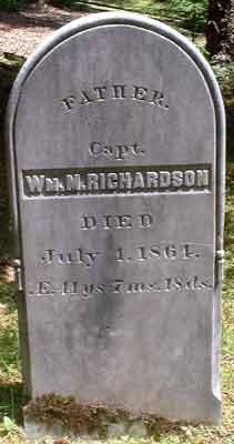 Capt William Moore Richardson