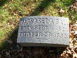 Margaret Ann <I>Sandford</I> Ball