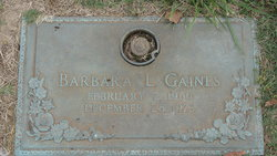 Barbara L Gaines