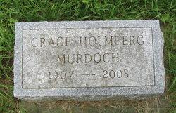 Grace <I>Holmberg</I> Murdock