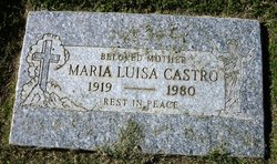 Maria Luisa Castro