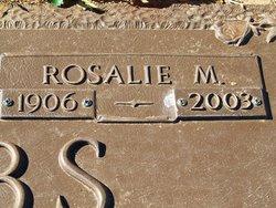 Rosalie M <I>Mitchell</I> Combs