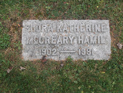 Flora Katherine <I>McCreary</I> Hamil