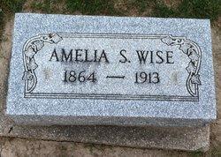 Amelia S <I>Shetterly</I> Wise