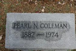 Pearl N. Coleman