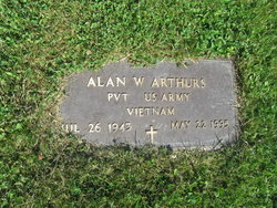 Pvt Alan Willard Arthurs