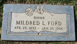 Mildred Louise <I>Carlisle</I> Ford