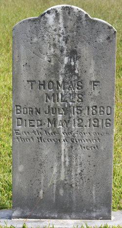 "Thomas Frances ""Tommie"" Mills"