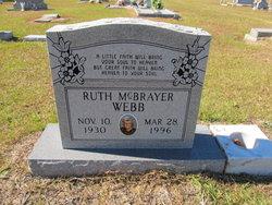 Ruth McBrayer <I>Jones</I> Webb