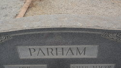 Infant Son Parham
