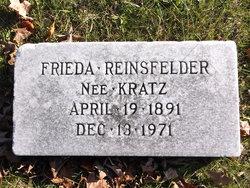 Frieda <I>Kratz</I> Reinsfelder
