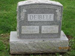 Gertrude A Deibele