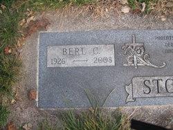"""Berl C. """"Bud"""" Stout"""