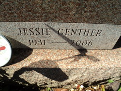 Jessie <I>Genther</I> Williamson