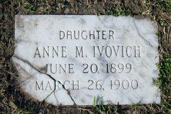 Anne M Ivovich