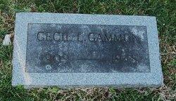 Cecil L Gammon