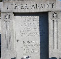 Catherine <I>Munzberg</I> Abadie