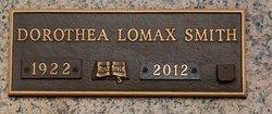 """Dorothea """"Dorothy"""" <I>Lomax</I> Smith"""