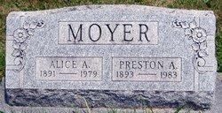 Alice A. <I>Musselman</I> Moyer