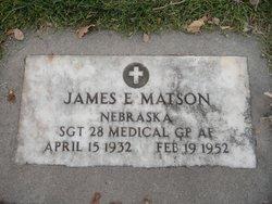 Sgt James E Matson