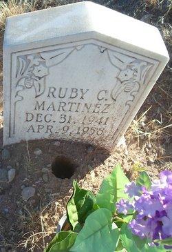 Ruby C Martinez
