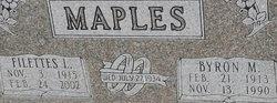 Filettes Lucile <I>Little</I> Maples