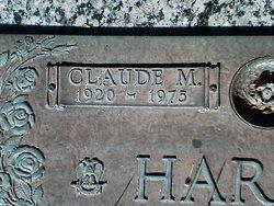 Claude M Harris