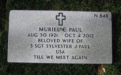Muriel C Paul
