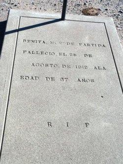 Benita <I>De Partida</I> Partida