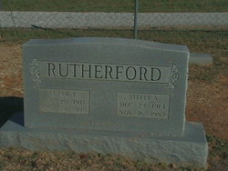 Lettie Emma <I>Miller</I> Rutherford